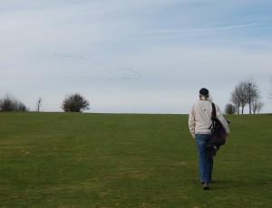 Frühlingsboten auf Fairway 6